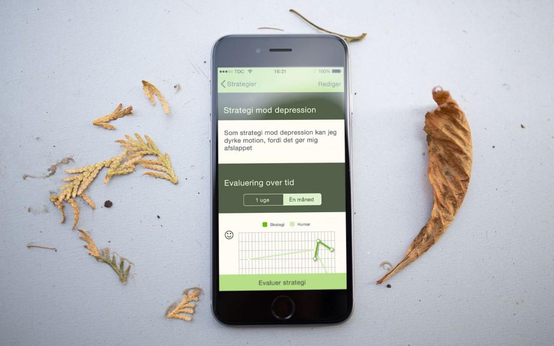 """Ny app """"Momentum"""" bliver fast redskab i psykiatrien"""