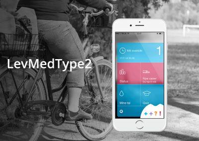 LevMedType2 – Diabetes app