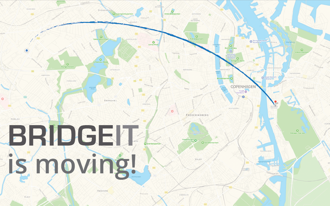 BridgeIT is moving from Søborg to Islands Brygge