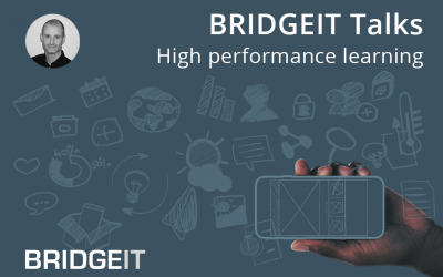 Using mobile engagement tools improves high performance learning up to 20%