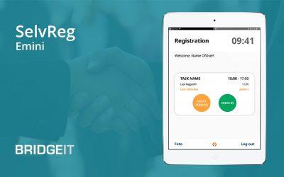 BridgeIT giver Emini's tidsregistreringsapp nyt design