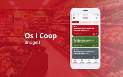 "Launch of  ""Os I Coop"" app"